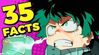 35 My Hero Academia Facts You Should Know! (Tooned Up S6 E10) | Channel Frederator
