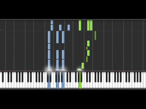 K anime (アニメ「K」) Special ed - Circle of Friends (piano Synthesia)