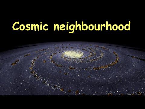 Our cosmic neighbourhood