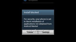 حل مشكل installation bloque في هواتف الاندريود