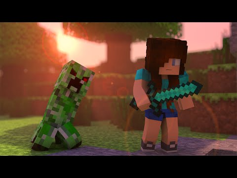 Minecraft Song ♫ CREEPER a Minecraft Parody (Minecraft Animation) - Поисковик музыки mp3real.ru