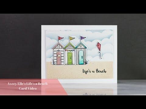 Avery Elle's Life's A Beach Card Video