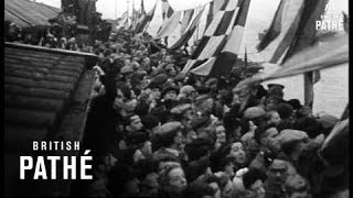Troopship Returns Troops To Liverpool (1945)