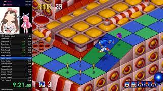 Sonic 3D Blast any% in 26m28s