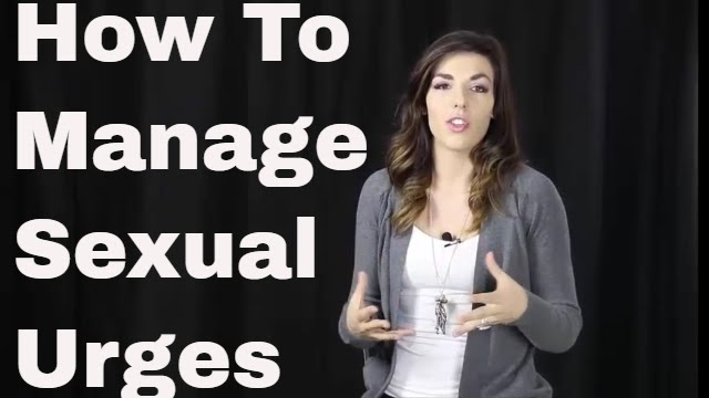 How to control your sexual urges