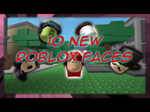 10 New ROBLOX Faces