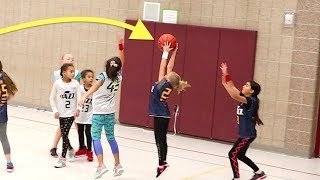 SMALLEST Kid on BASKETBALL Team Takes on the GIANT!