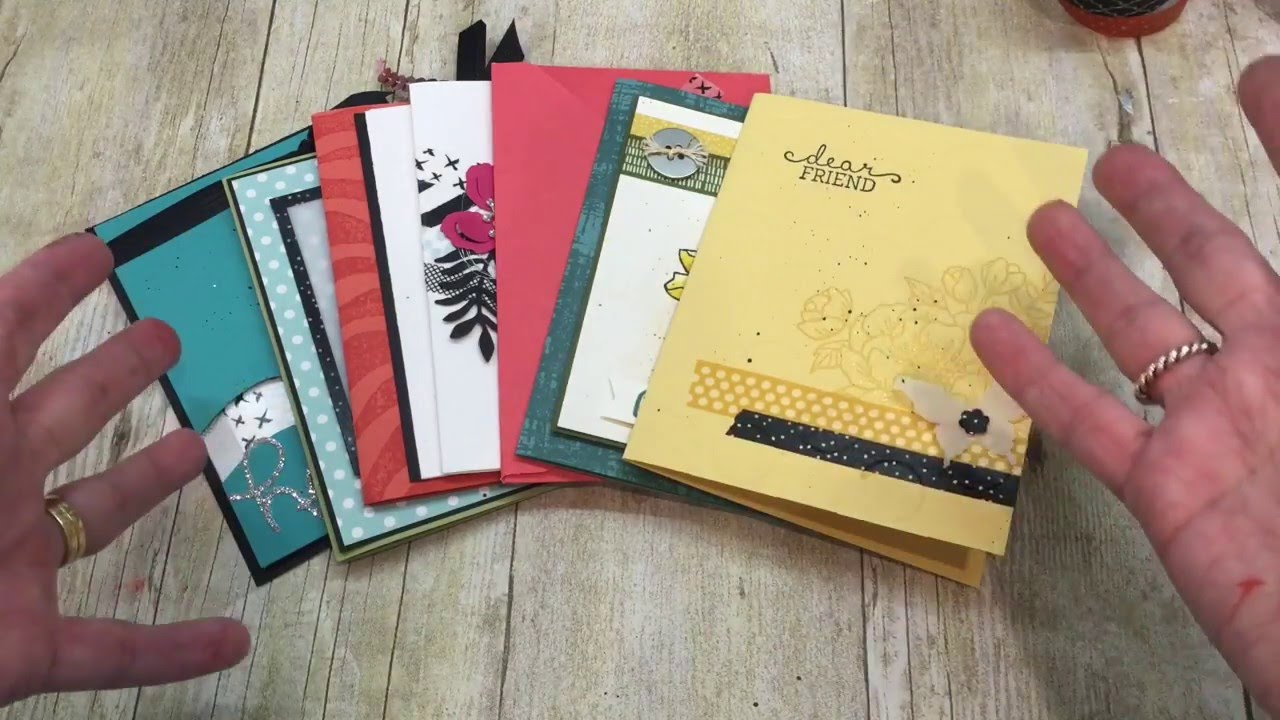how to use washi tape in your handmade cards youtube