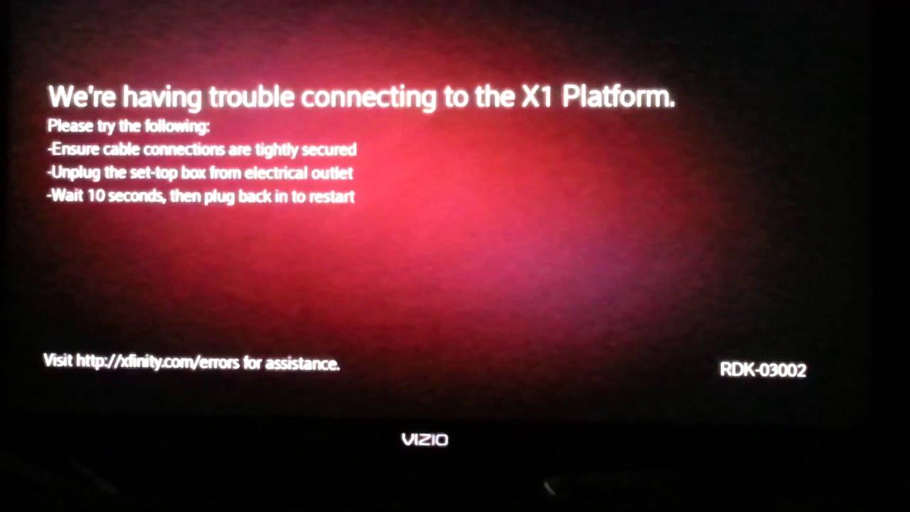XBONE FAIL WITH X1 PLATFORM by COMCAST