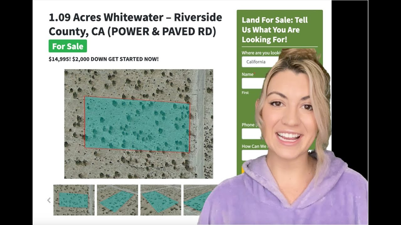 1.09 Acre Whitewater Property (POWER & PAVED RD) in Riverside County, CA