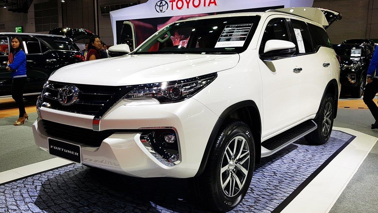 Toyota Fortuner 2017 รุ่น 2 4v 4x4 At ราคา 1 499 000 บาท
