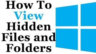 How To Show Hidden Files And Folders In Microsoft Windows 7