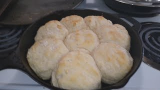 Breakfast With Brenda Gantt S Biscuits Fried Eggs And Corned Beef Hash Feast Youtube