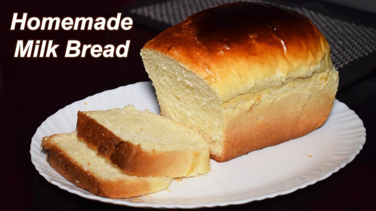 Bread Recipe - Home made Milk Bread - Bread Recipe by ...