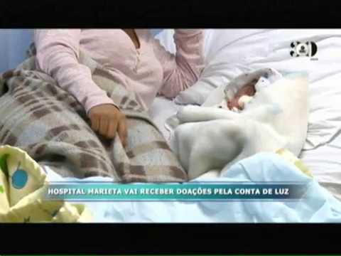 Hospital Marieta Vai Receber Doações Pela Conta De Luz