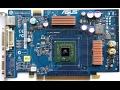 Чистка старой видеокарты и замена термопасты . NVIDIA GeForce 6600 GT   Cleaning the old video card