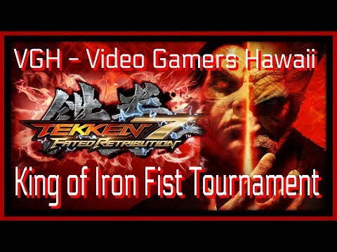 Tekken 7 ZeroHyperGaming Live Stream VGH - Video Gamers Hawaii 808