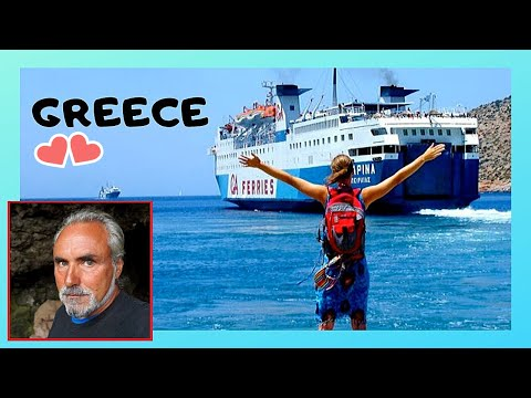 GREECE: Scenic FERRYBOAT trip from ISLANDS of LESBOS (ΛΕΣΒΟΣ