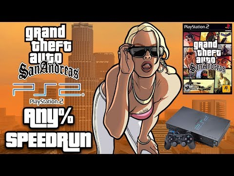 GTA San Andreas PlayStation 2 Any% Speedrun [PS2 WORLD RECORD]