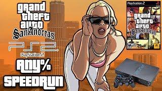 GTA San Andreas PlayStation 2 Any% Speedrun [PS2 WORLD RECORD]