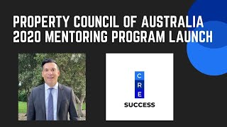 The 2020 Proeprty Council of Australia Mentoring Program