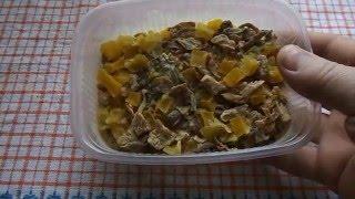 Самодельный гороховый суп быстрого приготовления.