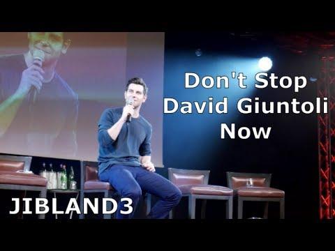 David Giuntoli at JIBLAND3 Don't Stop Me Now