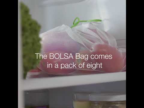 BOLSA Reinventing the Plastic Bag! Made from recycled plastic bottles