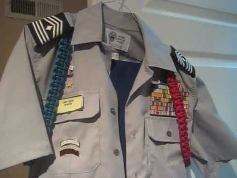 Jrotc class b uniform