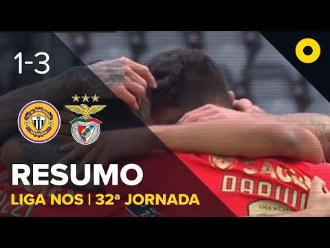 Resumo: CD Nacional 1-3 Benfica - Liga NOS   SPORT TV