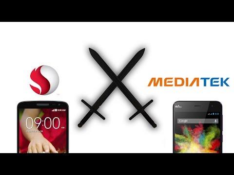 Qualcomm vs Mediatek (Gama media baja) - Comparativa en Español