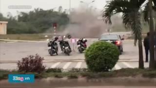 Cặp tình nhân quê Lạng Sơn buôn ma túy ném lựu đạn về phía cảnh sát