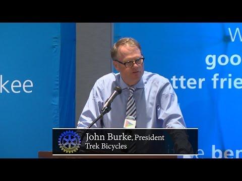 Milwaukee Rotary Club: John Burke, Trek Bicycles