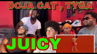 THARO$3FAM: DOJA CAT, TYGA - JUICY (REACTION)