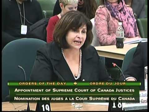 MPs Question Supreme Court of Canada Nominees Moldaver & Karakatsanis