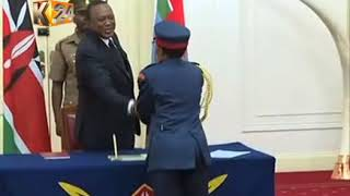 President Kenyatta makes changes to the Military Command