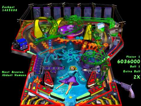 Full Tilt! 2 Pinball - Alien Daze (Gameplay)