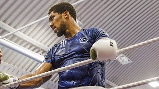 Anthony Joshua TRAINING CAMP FOOTAGE ready for Andy Ruiz Jr rematch