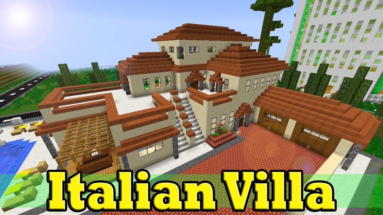 Minecraft Italian Villa YouTube