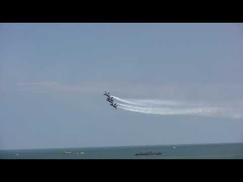 Low Pass Blue Angels Virginia Beach Patriotic Festival Flyover