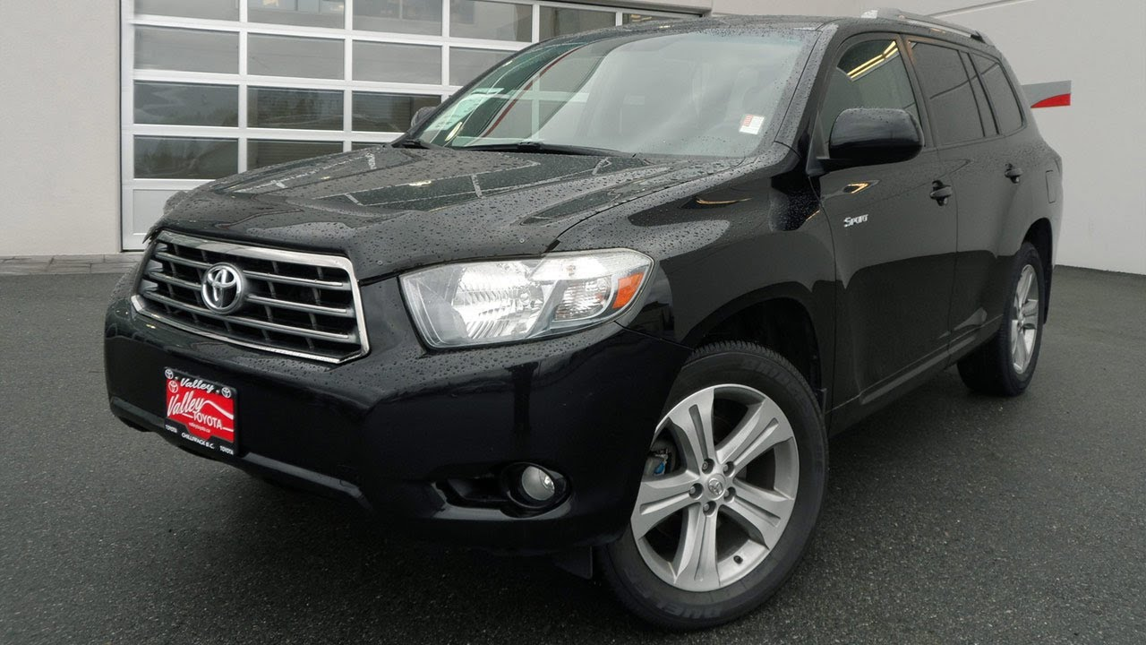 Sold 2008 Toyota Highlander Sport Preview At Valley