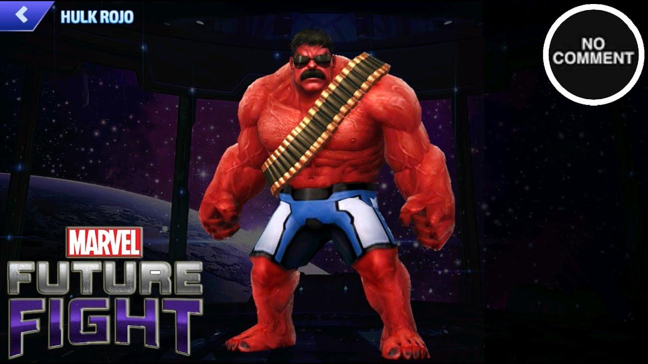marvel future fight  hulk rojo marvel now  youtube