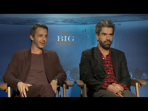 Jeremy Strong and Hamish Linklater Talk 'The Big Short' and Memorable Moments from Filming