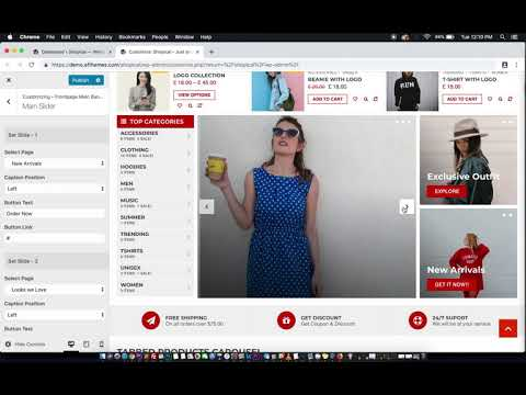 Shopical – AF themes Documentations