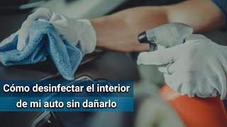 Te compartimos una breve guía de cómo limpiar tu auto desde el interior sin perjudicar los componentes del interior y así, tener la certeza de que será un espacio higiénico y libre de coronavirus