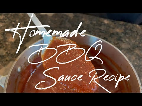 Homemade BBQ Sauce Recipe | Barbecue Sauce Recipe from The Barbecue Lab