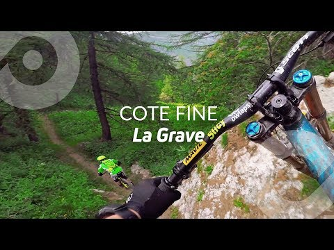 COTE FINE, La Grave bike park, France