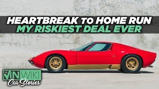 Lambo bought back our Miura SV for a mystery celebrity