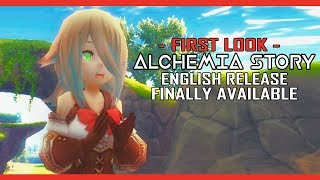 First Look At The English Release For Alchemia Story - Should You Play?