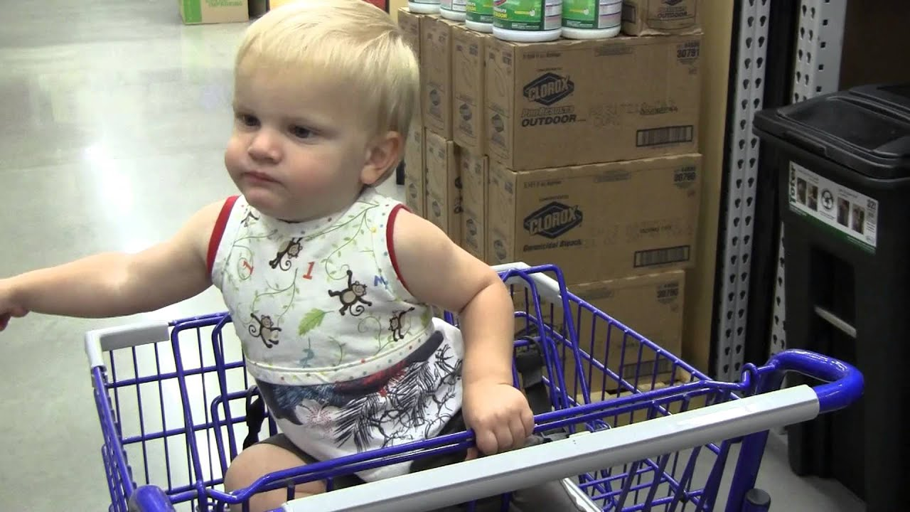 Shopping Cart Safety Harness - YouTube
